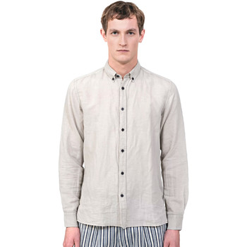 Textiel Heren Overhemden lange mouwen Antony Morato MMSL00530 FA400051 Grijs