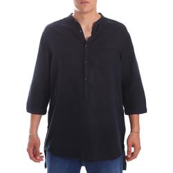 Textiel Heren Overhemden lange mouwen Antony Morato MMSL00531 FA400051 Blauw
