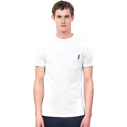 Textiel Heren T-shirts korte mouwen Antony Morato MMKS01490 FA100084 Wit