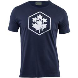 Textiel Heren T-shirts korte mouwen Lumberjack CM60343 002 509 Blauw