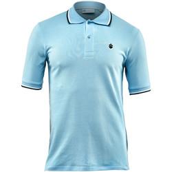 Textiel Heren Polo's korte mouwen Lumberjack CM45940 004 506 Blauw
