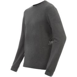 Textiel Heren T-shirts met lange mouwen New Balance NBMT91252HC Grijs