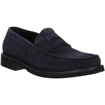 Schoenen Heren Mocassins Rogers AZ004 Blauw