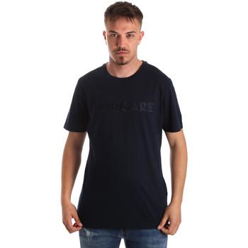 Textiel Heren T-shirts korte mouwen Navigare NV31070 Blauw