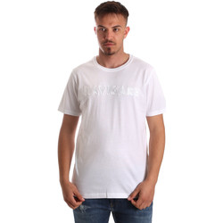 Textiel Heren T-shirts korte mouwen Navigare NV31070 Wit
