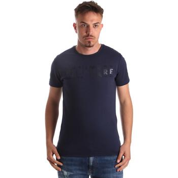 Textiel Heren T-shirts korte mouwen Navigare NV31081 Blauw