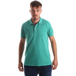 Textiel Heren Polo's korte mouwen Navigare NV82086 Groen