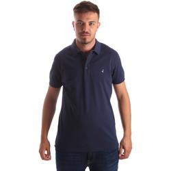 Textiel Heren Polo's korte mouwen Navigare NV82097AD Blauw