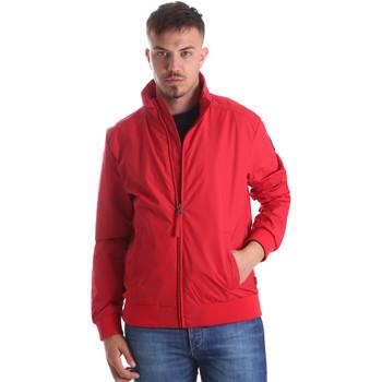 Textiel Heren Wind jackets Napapijri N0YIIT Rood