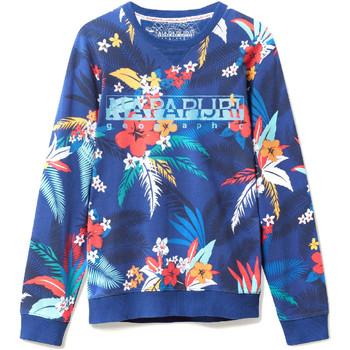 Textiel Heren Sweaters / Sweatshirts Napapijri N0YIF8 Blauw