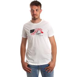 Textiel Heren T-shirts korte mouwen U.S Polo Assn. 51520 51655 Wit