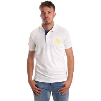 Textiel Heren Polo's korte mouwen U.S Polo Assn. 50336 51267 Wit