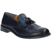Schoenen Heren Mocassins Exton 3105 Blauw