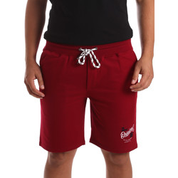 Textiel Heren Korte broeken / Bermuda's Key Up 2F26I 0001 Rood
