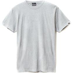 Textiel Heren T-shirts korte mouwen Napapijri N0YIEL Grijs