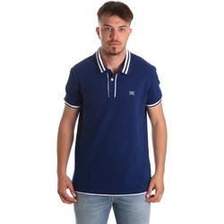 Textiel Heren Polo's korte mouwen NeroGiardini P972210U Blauw