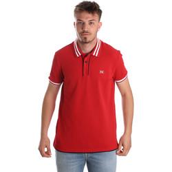 Textiel Heren Polo's korte mouwen NeroGiardini P972210U Rood