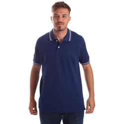 Textiel Heren Polo's korte mouwen Key Up 2Q70G 0001 Blauw