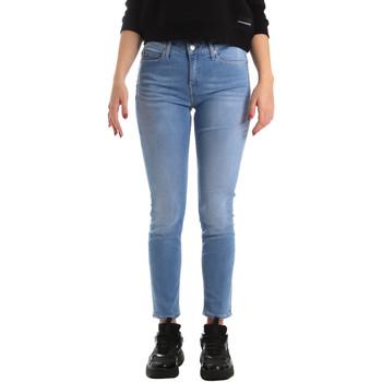 Textiel Dames Skinny Jeans Calvin Klein Jeans J20J211006 Blauw