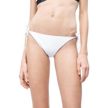 Textiel Dames Bikinibroekjes- en tops Calvin Klein Jeans KW0KW00647 Wit