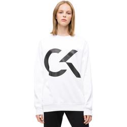 Textiel Dames Sweaters / Sweatshirts Calvin Klein Jeans 00GWH8W353 Wit