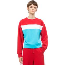 Textiel Dames Sweaters / Sweatshirts Calvin Klein Jeans 00GWH8W356 Rood