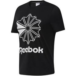 Textiel Dames T-shirts korte mouwen Reebok Sport DT7219 Zwart