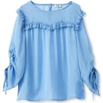 Textiel Dames Tops / Blousjes Liu Jo W19292T5339 Blauw