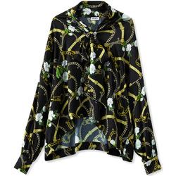 Textiel Dames Overhemden Liu Jo W19499T5335 Zwart