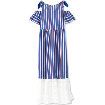 Textiel Dames Lange jurken Liu Jo F19228T2311 Blauw