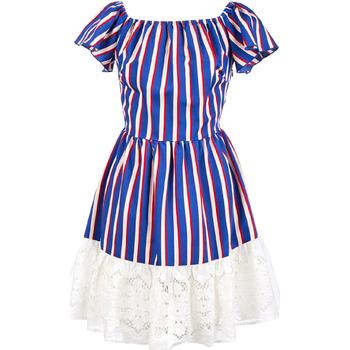 Textiel Dames Korte jurken Liu Jo F19384T2311 Blauw