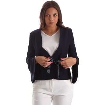 Textiel Dames Jasjes / Blazers Fracomina FR19SP668 Blauw