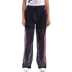 Textiel Dames Trainingsbroeken Fracomina FR19SP905 Blauw