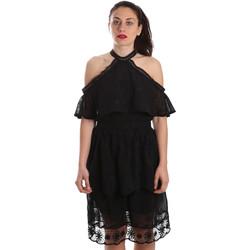 Textiel Dames Korte jurken Fracomina FR19SP539 Zwart