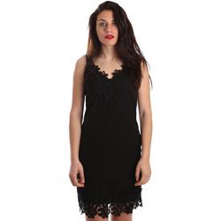 Textiel Dames Korte jurken Fracomina FR19SP024 Zwart