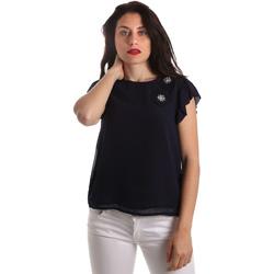 Textiel Dames Tops / Blousjes Fracomina FR19SP567 Blauw
