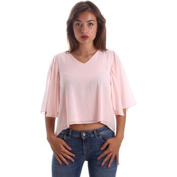 Textiel Dames Tops / Blousjes Fracomina FR19SP468 Roze