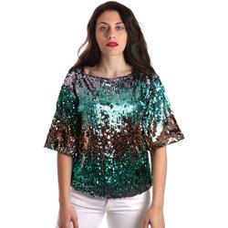 Textiel Dames Tops / Blousjes Fracomina FR19SP525 Groen