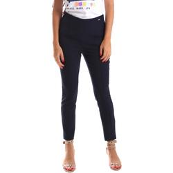 Textiel Dames Chino's Fracomina FR19SP133 Blauw