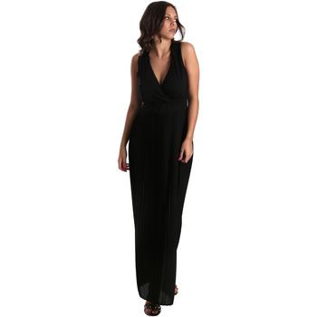 Textiel Dames Lange jurken Fracomina FR19SM673 Zwart