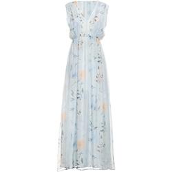 Textiel Dames Lange jurken Fracomina FR19SMCARLINDA Blauw