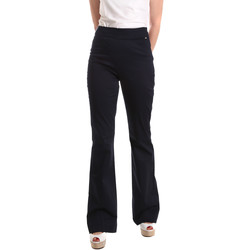 Textiel Dames Losse broeken / Harembroeken Fracomina FR19SM617 Blauw