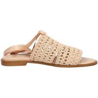 Schoenen Dames Leren slippers Liu Jo S19029TX043 Roze