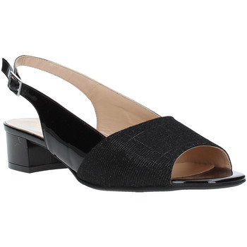 Schoenen Dames Sandalen / Open schoenen Soffice Sogno E8113T Zwart