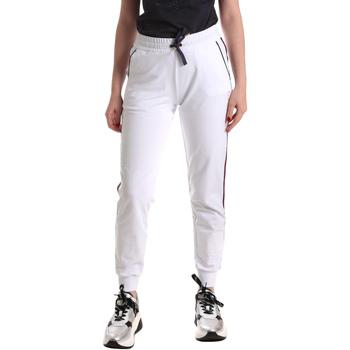 Textiel Dames Trainingsbroeken Ea7 Emporio Armani 3GTP54 TJ31Z Wit