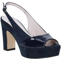 Schoenen Dames Sandalen / Open schoenen Grace Shoes 679004 Blauw