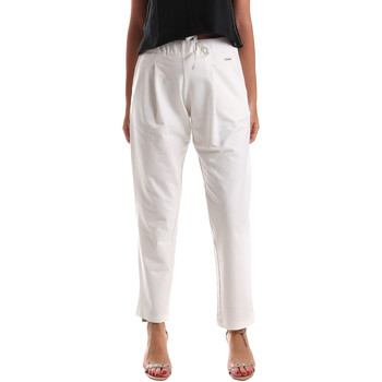 Textiel Dames Chino's U.S Polo Assn. 51478 51302 Wit