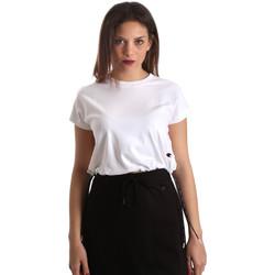 Textiel Dames T-shirts korte mouwen Champion 111487 Wit