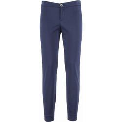 Textiel Dames Chino's NeroGiardini P960510D Blauw