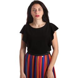 Textiel Dames Tops / Blousjes NeroGiardini P962510D Zwart